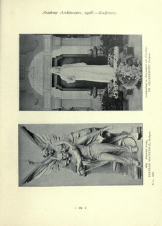 "Sculptures from ""Academy architecture,"" 1904-1908. A collection of all the sculptures published in vols. 25-34 of ""Academy Architecture."" : Academy architecture and architectural review : Free Download, Borrow, and Streaming : Internet Archive"