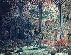 Amazon : Liam Stevens #forest #3d cutouts
