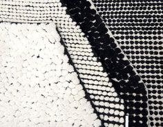 Black On White Semis Carpet by Bouroullec - InteriorZine #rugs #carpets #productdesign #design
