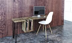 One -Two collection by Endri Hoxha - www.homeworlddesign. com (9) #wood #furniture #desk #table
