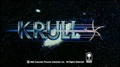 Inspiration | Jordan Lloyd #movie #krull #title #scifi #80s #main #trailer