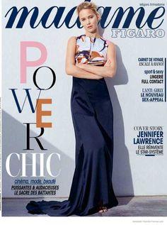 Jennifer Lawrence by Thomas Lohr #photography #magazine