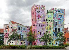 Brunswick bright residential buildings #bright #architecture #art #exterior #buildings