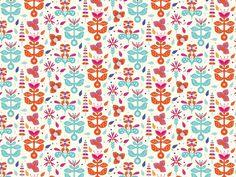 http://www.anatypestype.com #pattern #plants #color #flower #patterns #flowers