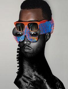 Kanye West / Vibe | Mat Maitland #kanye #collage #west
