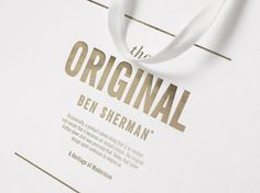 Good design makes me happy #packaging #bag #sherman #ben