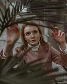 Gorgeous Female Portrait Photography by Anastasia Slepnova