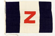 House flag, Zillah Shipping Co. Ltd - National Maritime Museum