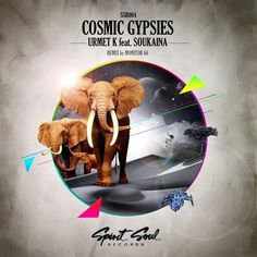 Cosmic gypsies #album #elephant #cover #art #animal #cosmic
