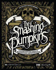 Smashing Pumpkins Poster on the Behance Network
