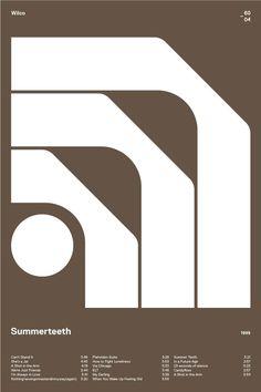 swissritual.ca #SwissRitual #graphic #design #grid #poster #swiss #Wilco Tribute to the Randstad (1966) logo — Design: Ben Bos