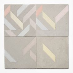 Konkurito, vase en beton KONKUR�TO / Lampe en beton Gayalux #tiles #colors #squares