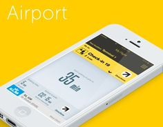 Airport #mobile #ui #typography