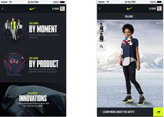 Sochi - Gear Up For Gold #nike #design #app