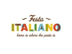 Finalized Logo: Festa Italiano #logo