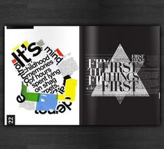 Design Manifesto on the Behance Network #manifesto #first #design #publication #type #things #typography