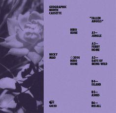 Hiro Kone - Fallen Angels, Farbod Kokabi, Geographic North #album #cover #artwork