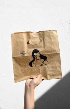 Negroblanco Cafe - Mindsparkle Mag Yeye Design designed the branding for Negro Blanco Café. #logo #packaging #identity #branding #design #color #photography #graphic #design #gallery #blog #project #mindsparkle #mag #beautiful #portfolio #designer