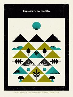 FFFFOUND! | Doublenaut | Shop: Posters: Explosions in the Sky #doublenaut #sky #shop #posters #explosions #ffffound