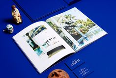 duo d uo | creative studio | John Laurie – folio #foiling #ykb #design #publication #collateral #blue #folio