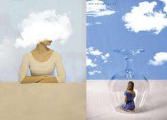 Surreal Poetry: Psychadelic and Dreamlike Self-Portrait Photography by Erika Zolli