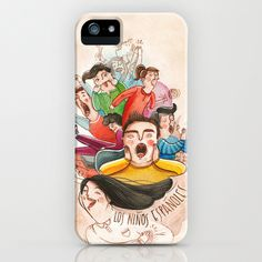 Postcards from Spain: Los Niños Espanoles iPhone & iPod Case #print #iphone #illustration #case #kids #children #watercolor