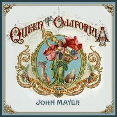 Queen-of-California-artwork.jpg (1000×1000) #album #design #cover #vintage #ornamental #typography