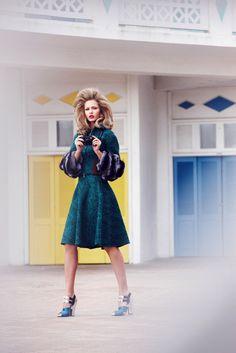 Kristina Romanova by Diego Uchitel #fashion #model #photography #girl