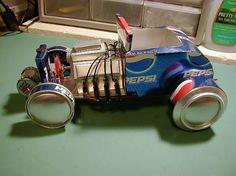 RAT RODS - Sodaplane - Picasa Web Albums #soda #hot #rod #car #cans