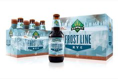 Summit Brewing Frost Line Rye #packaging #beer