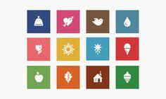 JCP Seasonal Icons #icon #symbol #pictogram