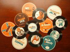 Fox Retro Collection on the Behance Network #music #retro #venyl