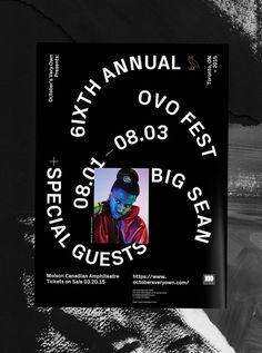 #poster #typography #type #print #paint #julestardy #ovo #festival