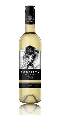 Cogno Brothers - Cobbity Classic on Behance #white #classic #design #black #label #wine #and