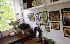 Sunny - Bratus work space #green #agency #office #space #studio #bratus #work