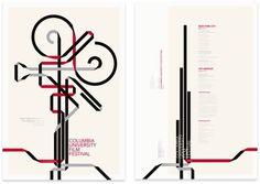 Columbia University Film Festival #illustration