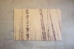 birches, print on wood, birch plywood, art