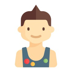 See more icon inspiration related to child, boy, young, avatar, kid, people, user and profile on Flaticon.