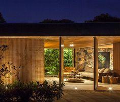 Residential Oasis in Sao Paulo - InteriorZine #architecture #house #home #decor #interior