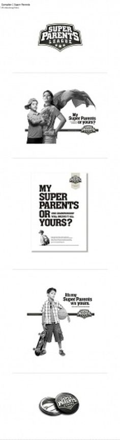 Not Just Logos on the Behance Network #super #design #graphic #parents #complan #poster