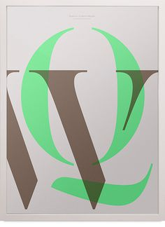 In Love With Typography2 — WQ #type #poster