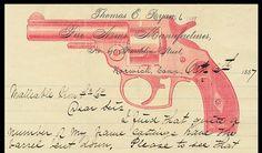 Letterheads | Sheaff : ephemera #type #gun