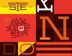 Stendo Typeface