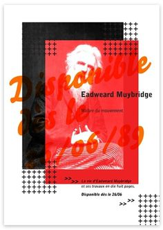 EADWEARD MUYBRIDGE - MS #design #graphic #poster #typography