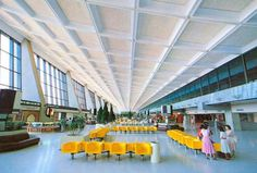 Taiwan Pictures Digital Archive - Taipics - Aiports #lounge #design #airport #architecture