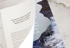 Truenorth Promotional Brochure on Behance #packaging #print #layout #typography