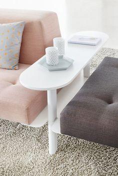 Docks Furniture System — Björn Meier & Till Grosch #interior #pink #couch #design #furniture #gray