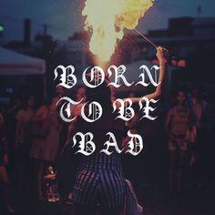 ☠️Born To Be Bad ☠️ - 📷by @nonson_j / @unsplash - #calligraphy #borntobebad #rebel #lettering #bad #type #blackletters #calligrap