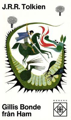 Sara Lindholm - c86: JRR Tolkien - Gillis Bonde från Ham, 1970 ... #tolkien #jrr #art