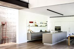 SB House – Wrapped in a Shell of Concrete - #kitchen, #kitchens, kitchen ideas, kitchen design